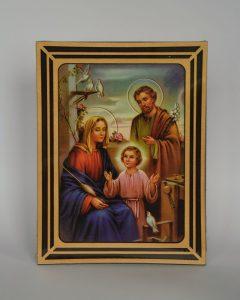 obraz prezentujący Świętą Rodzinę
